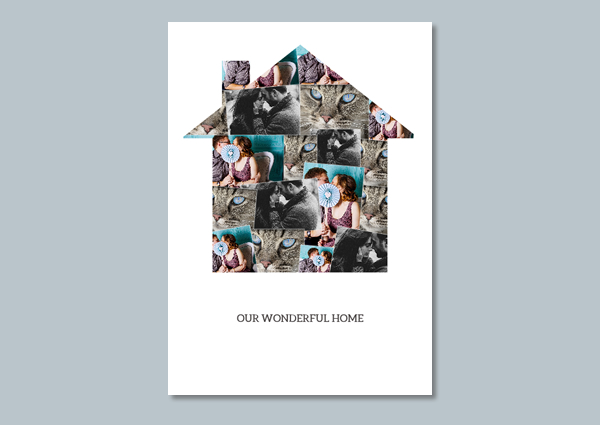 personalised photo collage poster